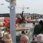 Απίστευτο ατύχημα στην Ολλανδία - 'Επεσαν δύο γερανοί σε σπίτια