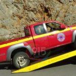 Τροχαίο με όχημα Πολιτικής Προστασίας του Δήμου Τρίπολης