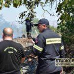 ΡΟΜΑ έκλεψαν πυροσβέστες την στιγμή που έσβηναν πυρκαγιά στο Αργολικό Ναυπλίου