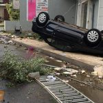Tornado hits Kalamata causing serious damages