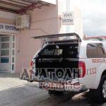 Η ΕΔΕΑΚ μετέφερε θύμα τροχαίου στο Νοσοκομείο Σητείας... αφού δεν υπήρχε ασθενοφόρο