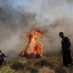Fire breaks out in Xylokastro, northern Peloponnese