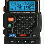 Intek KT-980 HP Φορητός πομποδέκτης VHF/UHF ισχύος 8W