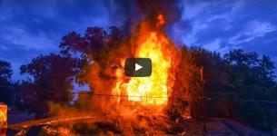 Δύσκολη μέρα για τους πυροσβέστες του Shreveport με απανωτούς εμπρησμούς