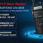 Νέος πομποδέκτης BAOFENG UV-8HX 8WATT