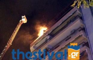 Θεσσαλονίκη: Δυο νεκροί από φωτιά σε διαμέρισμα