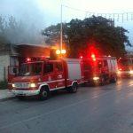 Ζημιές από φωτιά σε συνεργείο στη Ν. Ιωνία