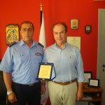 Το Ινστιτούτο «Πλάτων» τίμησε τους πυροσβέστες που ρίχτηκαν στις μάχες με τις φλόγες