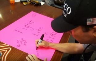 ΣΥΓΚΙΝΕΙ ο τρόπος που έδειξαν την στήριξη τους σε συνάδελφο τους με καρκίνο του μαστού