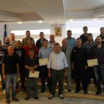 Βράβευση εθελοντών πυροσβεστών στη Μεσσήνη