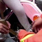 Πιάστηκε το πόδι 4χρονης σε ρόδα μηχανής
