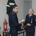 Απονομή τιμητικού διπλώματος από το Πυροσβεστικό Σώμα