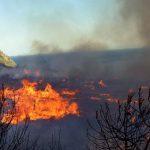 Φωτιά που είχαν ανάψει μετανάστες κατέκαψε χορτολιβαδική έκταση στις Οινούσσες