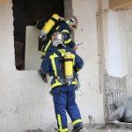 Dramatisch die Lage der Feuerwehrleute in Griechenland