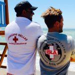 Ναυαγοσώστες απο Ηνωμένες Πολιτείες,Ευρωπη και Αυστραλία απο την LIFEGUARD HELLAS για τη Λεσβο