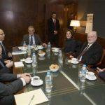 Συνάντηση του Αν.Υπ. Προστασίας του Πολίτη με τον Ισραηλινό Υπουργό Άμυνας