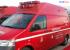 Feuerwehr-RTW dem Rettungsdienst übergeben