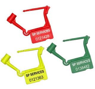 Πλαστικά Λουκέτα Ασφαλείας μίας Χρήσης με Ατομική Αρίθμηση