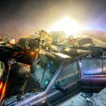 Γερμανία: Πρωτοχρονιάτικη καραμπόλα – Ξαφνική ομίχλη και παγετός οι αιτίες