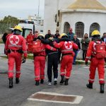 Ηράκλειο Κρήτης: Στιγμιότυπα από την άσκηση σεισμού στο Καπετανάκειο