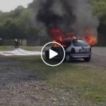 Επιβραδυντικός τάπητας για πυρκαγιές σε οχήματα