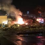 Ισχυρή έκρηξη στο Σιάτλ - Εννέα τραυματίες πυροσβέστες