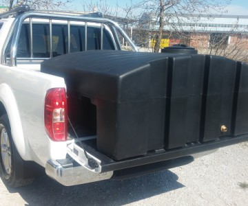 Νέα Δεξαμενή μεταφοράς νερού 850 λίτρων για Pickup