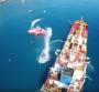 Schiffsbrandbe kämpfungsübung auf Kreta
