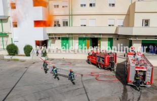 Ασθενείς και προσωπικό απεγκλώβισε η Πυροσβεστική στο Νοσοκομείο Καλαμάτας