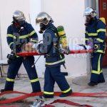 Άσκηση της Πυροσβεστικής στο Νοσοκομείο Πρέβεζας υπό το βλέμμα του νέου Διοικητή Ηπείρου