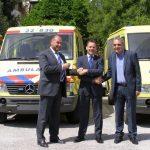 Παράδοση των ολλανδικών κινητών ιατρικών μονάδων στο ΕΚΕΠΥ