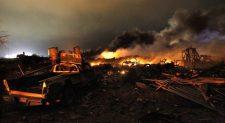 Τετάρτη 17 Απριλίου 2013 : Μια από τις ισχυρότερες χημικές εκρήξεις στην ιστορία
