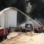 Λαύριο 26 Ιουλίου 2006... πυρκαγιά στην εταιρία ΧΥΜΑ