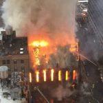 Στις φλόγες ιστορικός ναός στο Μανχάταν