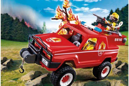 "Playmobil Όχημα Δασοπυρόσβεσης ""5616"""