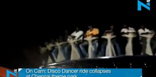 Συγκλονιστικό βίντεο: Αποκολλήθηκε τροχός γεμάτος κόσμο σε λούνα παρκ