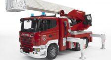Πυροσβεστικό όχημα Scania της Bruder για παιδιά