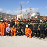 Εκπαίδευση πυροσβεστών στις εγκαταστάσεις της Energean Oil Gas