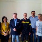 Οι πυροσβέστες της Μεσσηνίας συνάντησαν τον Γ. Κατρούγκαλο
