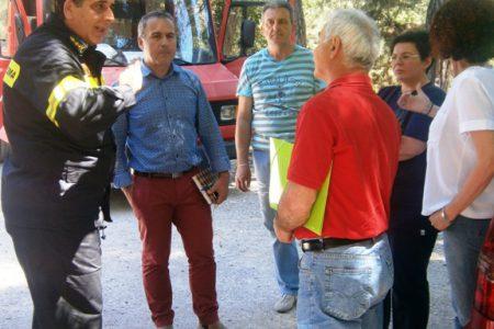 Τρίκαλα: Oλοκληρωμένη πυροπροστασία του άλσους Προφήτη Ηλία