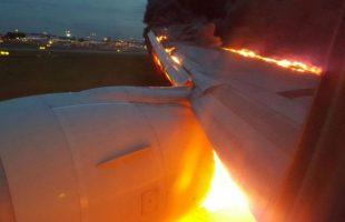 Κίνδυνος στον αέρα - Αεροπλάνο πιάνει φωτιά στην προσγείωση