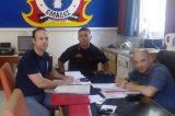 Συνάντηση της ΠΕΕΠΣ με το νέο προϊστάμενο του Εθελοντικού Π/Κ Πεντέλης κ. Λιάκο Νικόλαο