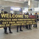 Aστυνομικοί και πυροσβέστες... σαμποτάρουν τους Ολυμπιακούς Αγώνες στη Βραζιλία
