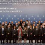 Ο Γενικός Γραμματέας στην 36η Συνάντηση Γενικών Διευθυντών Πολιτικής Προστασίας στο Άμστερνταμ