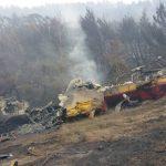 Forest fire in Dervenochoria rages on through the weekend