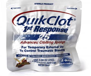 Αιμοστατικό Επίθεμα Τραύματος QuikClot 1st Response 25gr