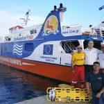 Οι εθελοντές Σαμαρείτες ευχαριστούν την Ναυτιλιακή εταιρία Dodekanisos Seaways
