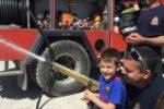 Πυροσβέστες στον βρεφονηπιακό σταθμό του ΠΓΝΛ