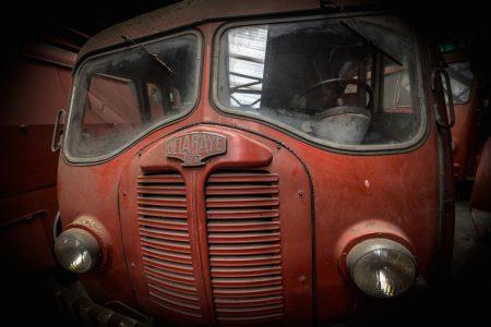 Νεκροταφείο πυροσβεστικών οχημάτων