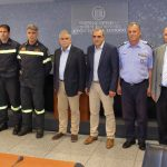 Βράβευση πυροσβεστών από τον Αναπληρωτή Υπουργό Προστασίας του Πολίτη Νίκο Τόσκα